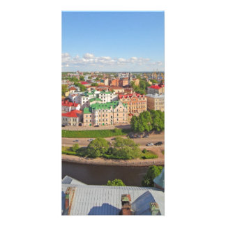 Vyborg Russia Leningrad Oblast from Olaf Tower Picture Card