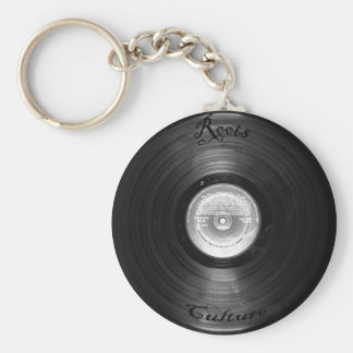 vynil retro keychain