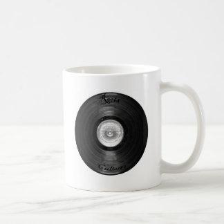 vynil retro mug