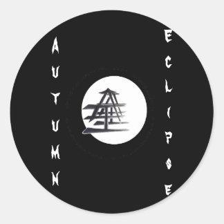 Vynl Eclipse Classic Round Sticker