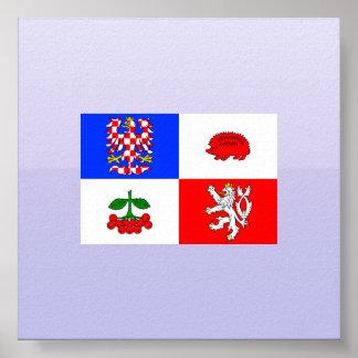Vysocina Region Czech Poster