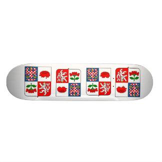 Vysocina Region Czech Skate Board Deck