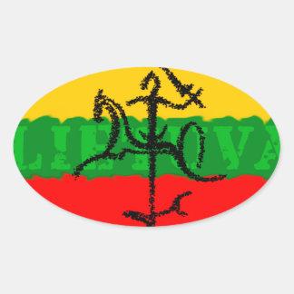 Vytis Shadow Lietuva Sticker