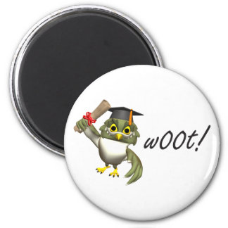 w00t!  Graduation Tees & Gifts 2 Inch Round Magnet