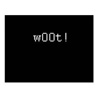 W00T POSTCARD