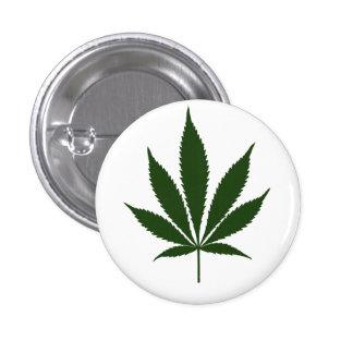 W01 Pot Leaf Button