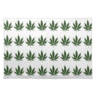W01 Pot Leaf Placemat