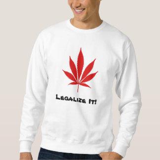 ¡W02 lo legalizan! Sudadera