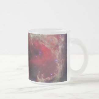 W5 Wallpaper Frosted Glass Coffee Mug