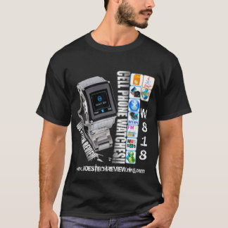 w818 watch phone t-shirt