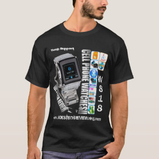 w818 watch phone Tech Support t-shirt