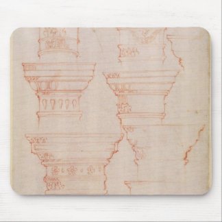 W.18v Study of column capitals Mouse Pad
