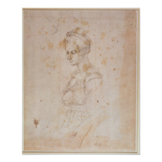 W.41 Sketch of a woman Poster