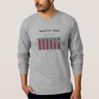 W.A.S.T.E. Camisa de color claro