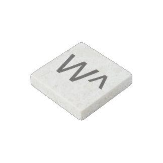w^.ai stone magnet
