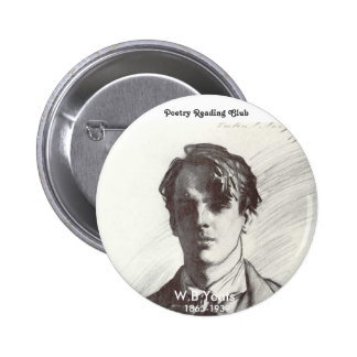 W. B. Yeats Pin