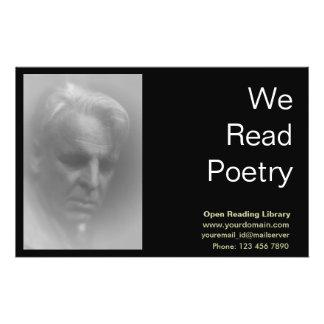W. B. Yeats Personalized Flyer