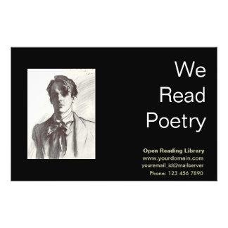 W. B. Yeats Full Color Flyer