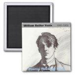 W.B. Yeats Imán Para Frigorífico