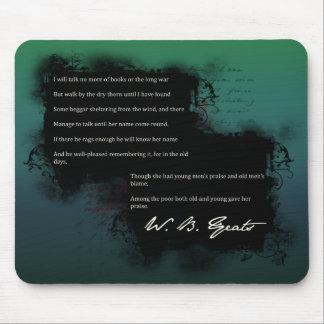 W.B. Yeats mouse pad