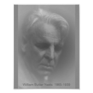 W.B. Yeats Poster