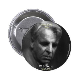 W.B. Yeats Pin