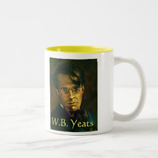 W.B. Yeats Poem & Portrait Mug