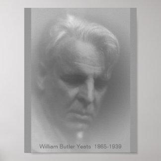 W.B. Yeats Póster