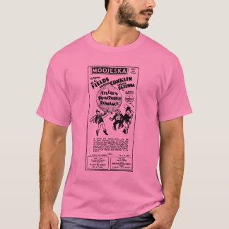 W. C. Fields Tillie's Punctured Romance T-Shirt