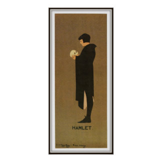 W.C. Hardy's production of Hamlet, 1894 Poster