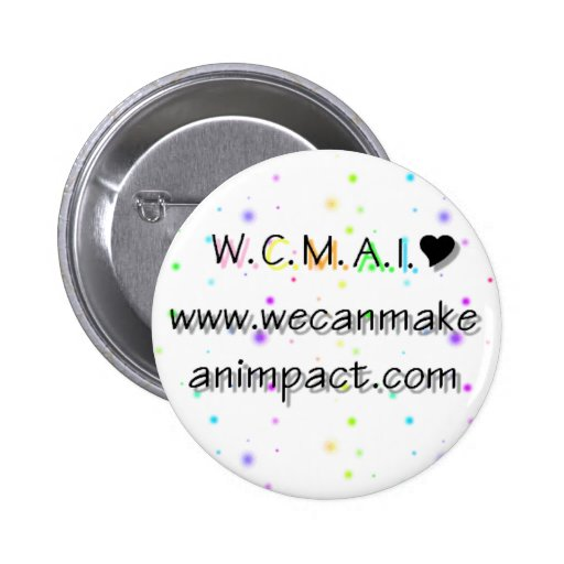 W.C.M.A.I. PIN REDONDO 5 CM