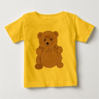 W. Camisa del oso de peluche