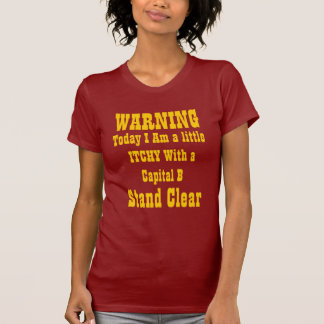 ¡w Capital que pica B Camiseta