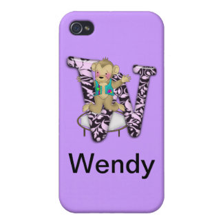 W Circus Monkey iPhone 4 Covers