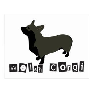 W_Corgi Postcard