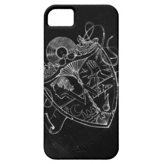 W Crest Invert for iPhone 5 iPhone SE/5/5s Case