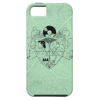 W Crest LeafyGreen (vibe) case for iPhone 5