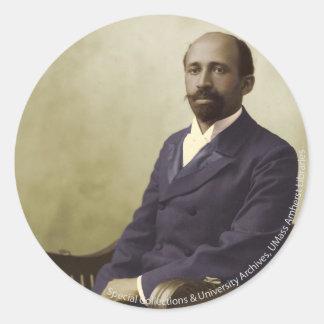 W.E.B. Du Bois Etiquetas Redondas
