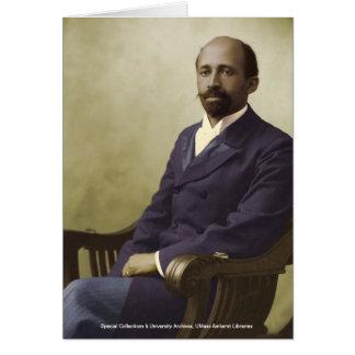 W E B Du Bois Tarjeta