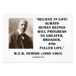 W E B ¡Dubois Du Bois cree en vida Progreso