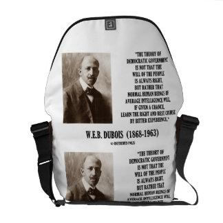 W E B Teoría Govt Democratic de Dubois Du Bois Bolsas De Mensajeria