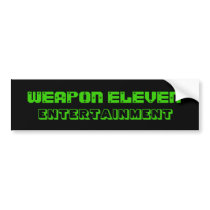 W.E.E. Bumper Sticker