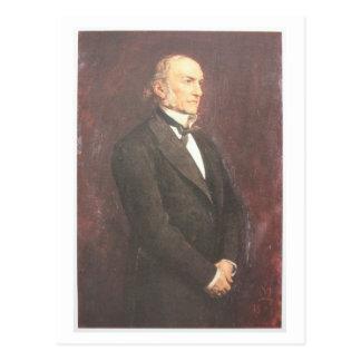 W.E. Gladstone by Millais Postcard