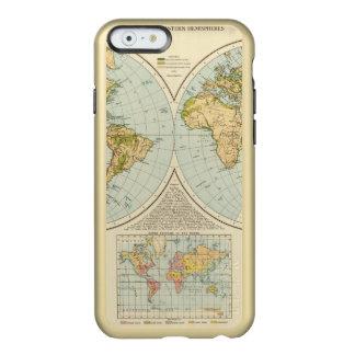 W, E Hemispheres Incipio Feather® Shine iPhone 6 Case