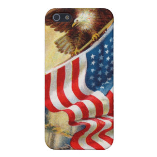 /w EAGLE DEFENDING LIBERTY Case For iPhone SE/5/5s