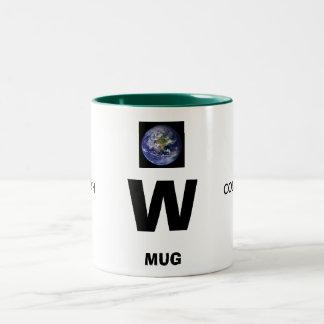 W, EARTH , COLLECTIONS, MUG