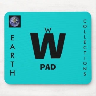 W, EARTH, COLLECTIONS, PAD MOUSE PAD