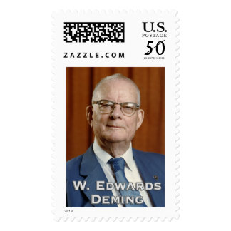 W. Edwards Deming - Large Postage