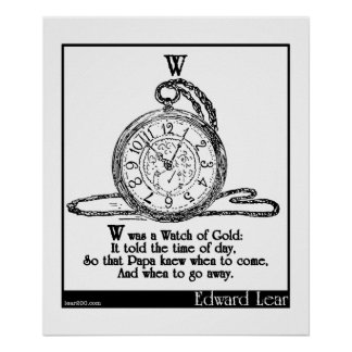 W era un reloj del oro impresiones