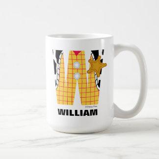 W está para Woody que los | añaden su nombre Taza De Café